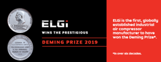 ELGi wins 2019 Deming Prize for Total Quality Management